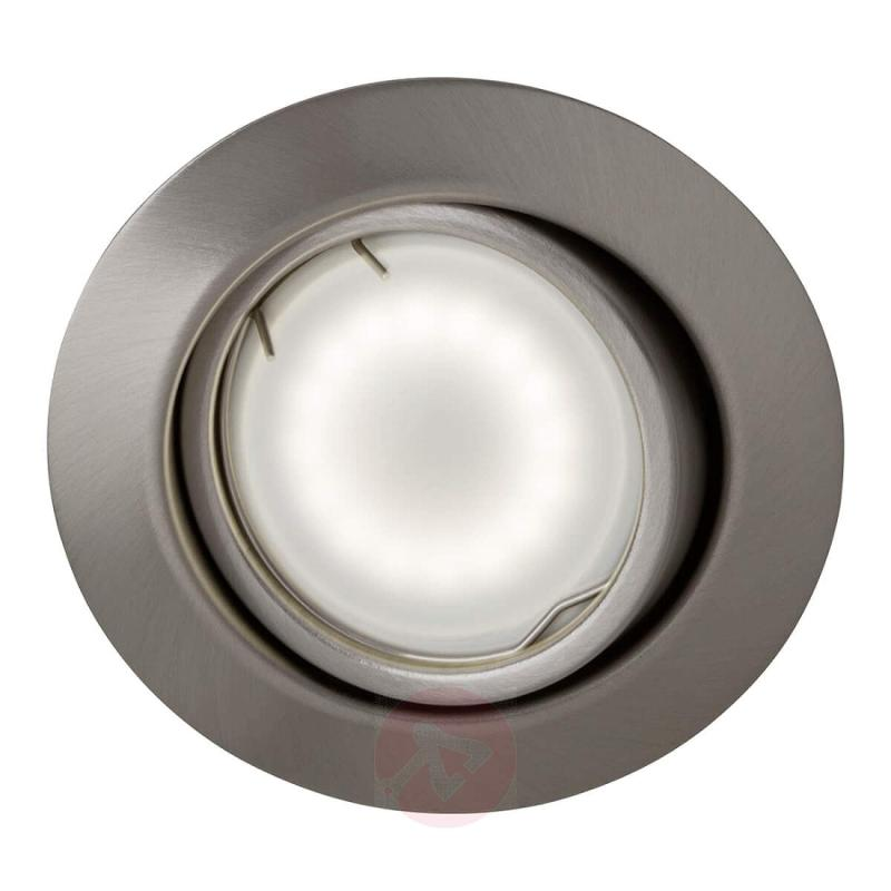 Round LED recessed light Honor, set of 3, easydim - indoor-lighting