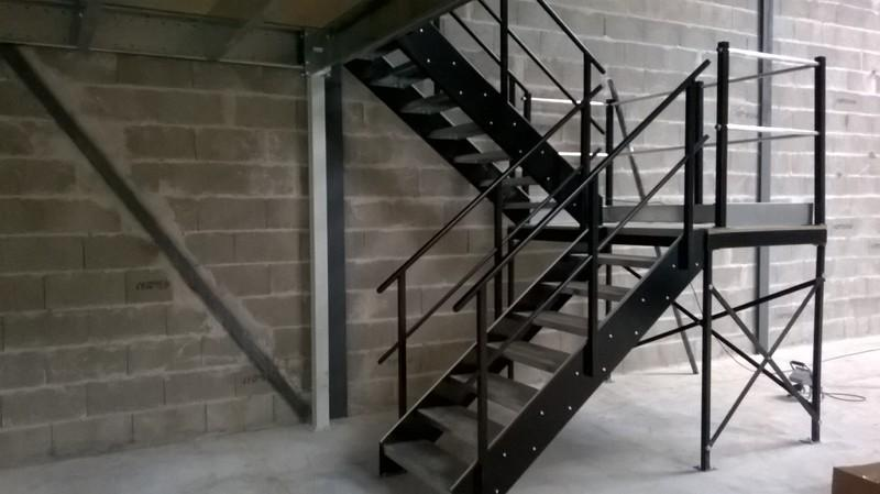 Escalier industriel sur-mesure