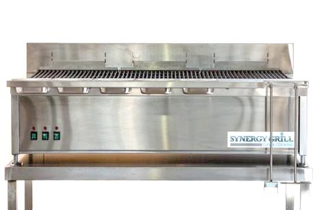 SYNERGY GRILL SG1300 - Triple burner gas grill