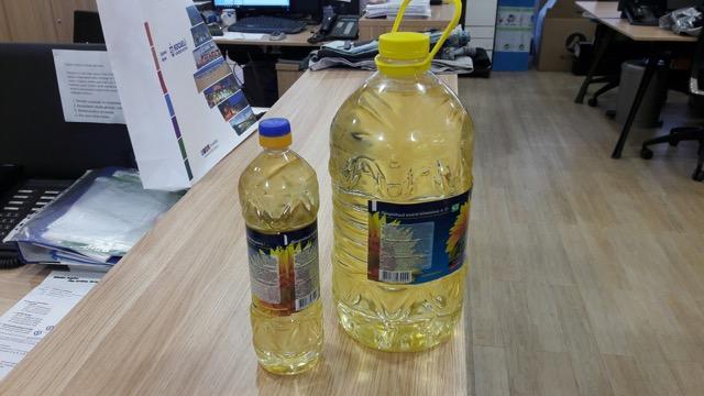 sunflower oil  - raffined/grude origin Russia