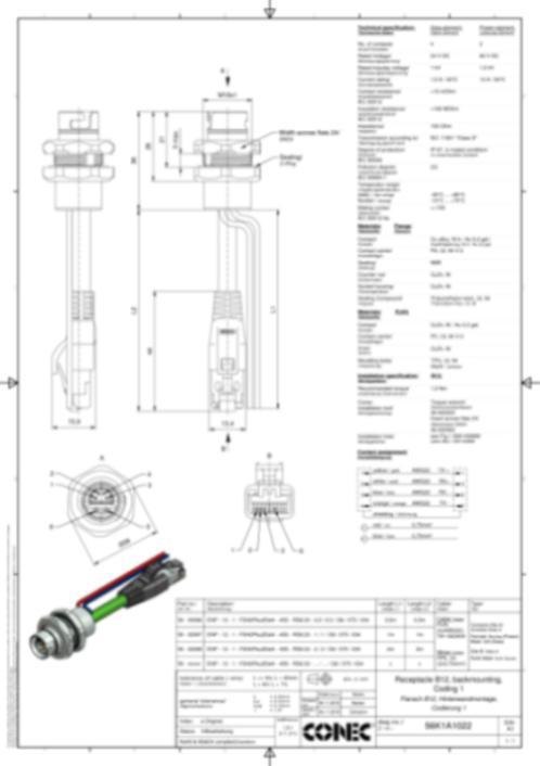 CONEC SuperCon Hybrid Receptacles - CONEC SuperCon® Hybrid receptacles B12