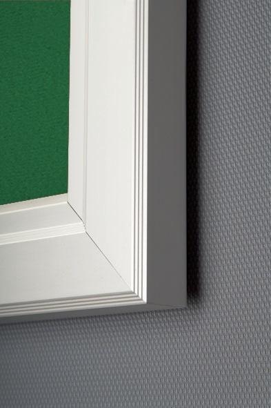 Show Boards - Vitrine waterproof avec feutre vert