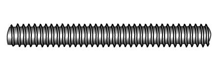 Stud bolts (threaded rods), metric thread - Material A2 | A4 | 1.4571 | 1.4462 | 1.4529