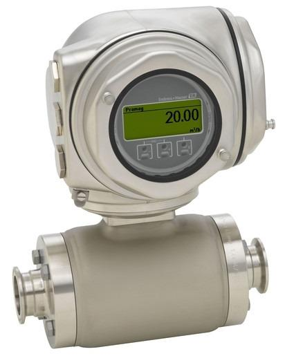 Proline Promag H 300 Electromagnetic flowmeter - Specialist for hygienic applications with compact, easily accessible transmitter