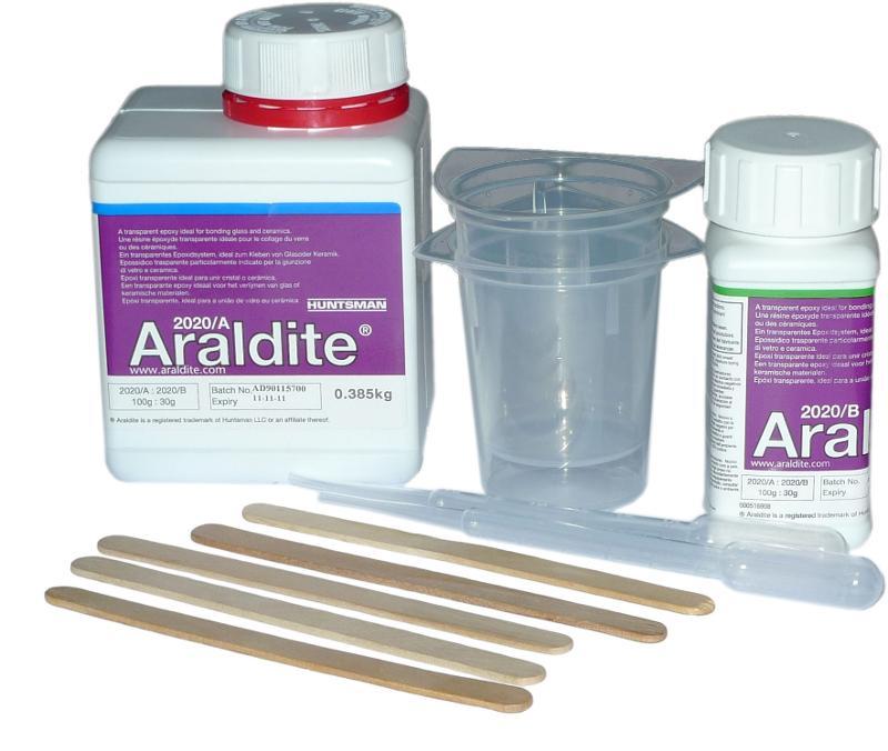 Araldite 2020 | 0,5 kg (385g Harz-115g Härter) - ARA-2020-05KG