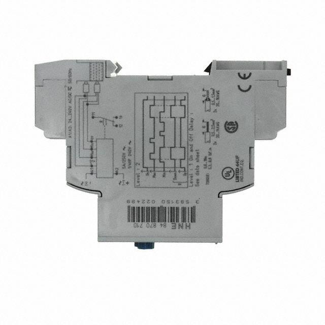 CONTROL LIQ LEV 24-240VAC/DC DIN - Crouzet 84870710