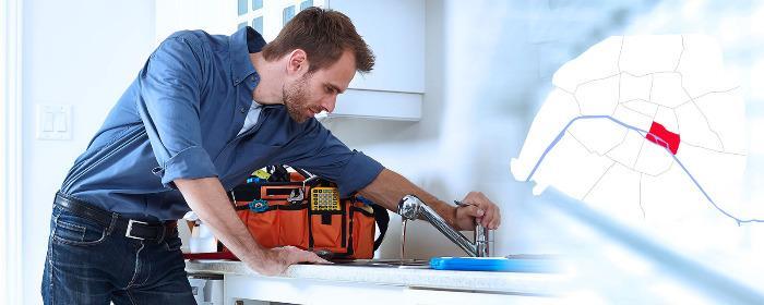 Dépannage plombier Paris 4 (75004) - Intervention en plomberie à Paris 4 (75004) 24/24h et 7/7 jours