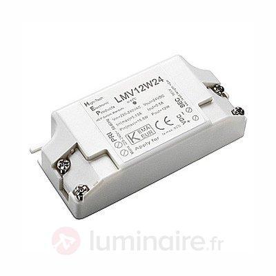 Transformateur pour LED 24 V 12 W - Transformateurs LED
