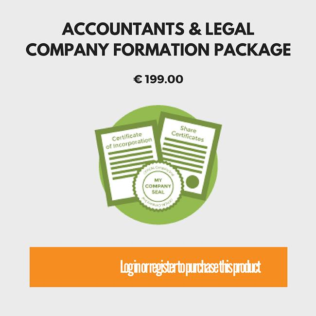 Accountants and Legal Formation Package