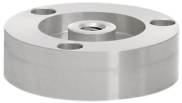 Tension and compression load cell - 8523 - compression load cell, robust, easy handling,  button type, aluminum, compact