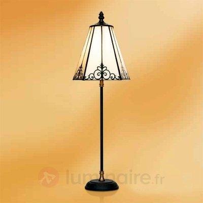 Lampe à poser Janett 57 cm - Lampes à poser style Tiffany