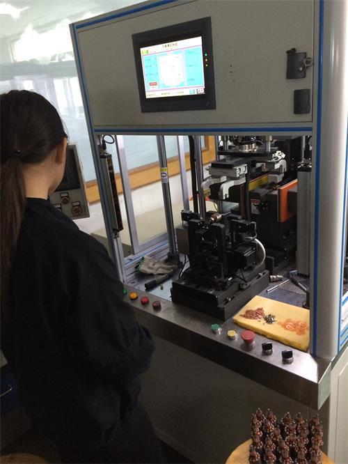 dc brush motor balance machine