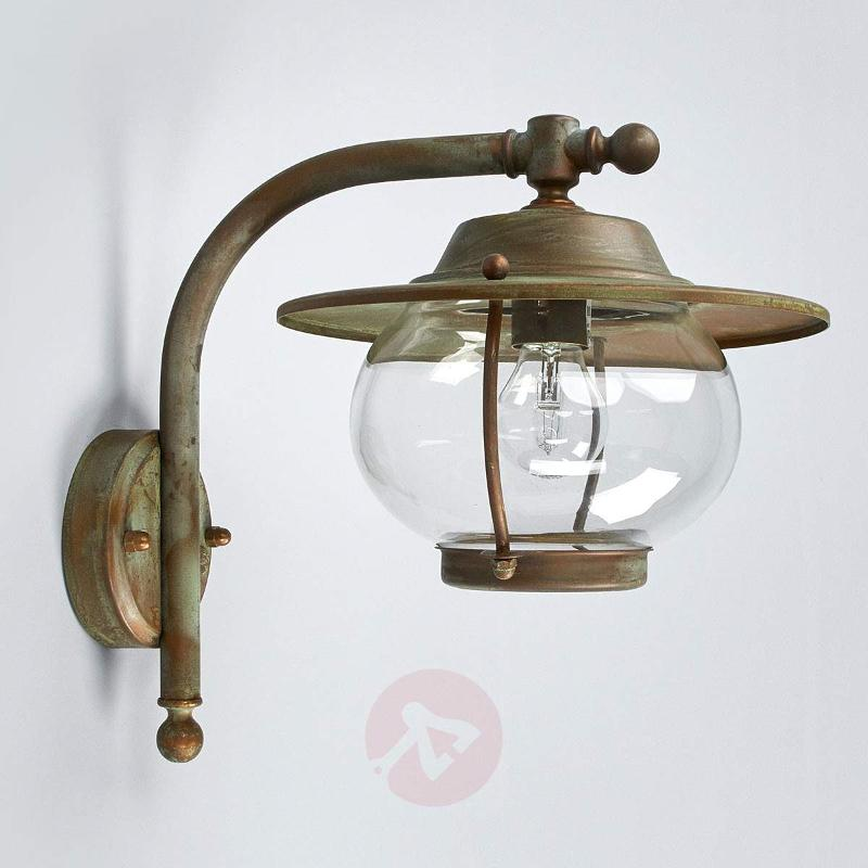 Lovely outdoor wall light Adessora - seawater-res. - Outdoor Wall Lights