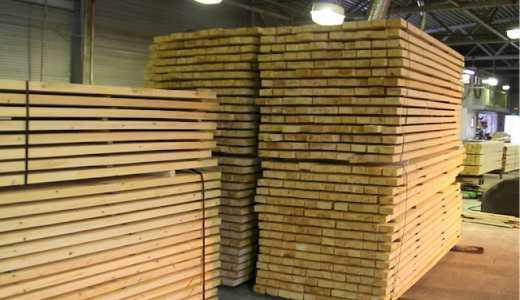 Bois de sciage - Matériaux de construction en bois massif
