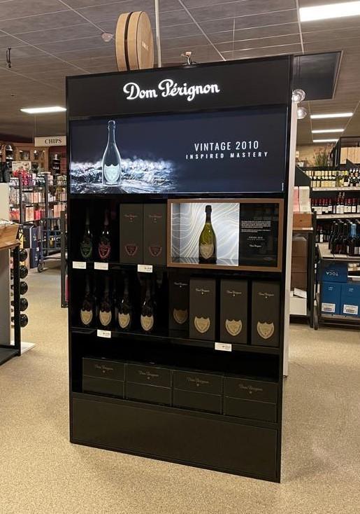 Dom Pérignon_ Présentoir Permanent - null