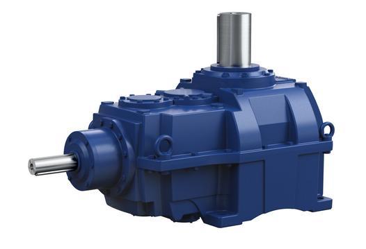 Hansen P4 Mehrstufig - Vertikal - Getriebe