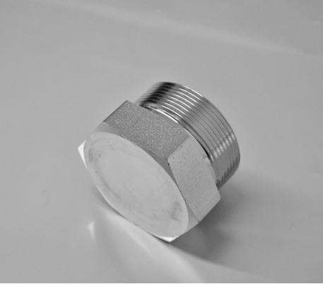 ROV - Verschluss-Stutzen für Rohrenden -