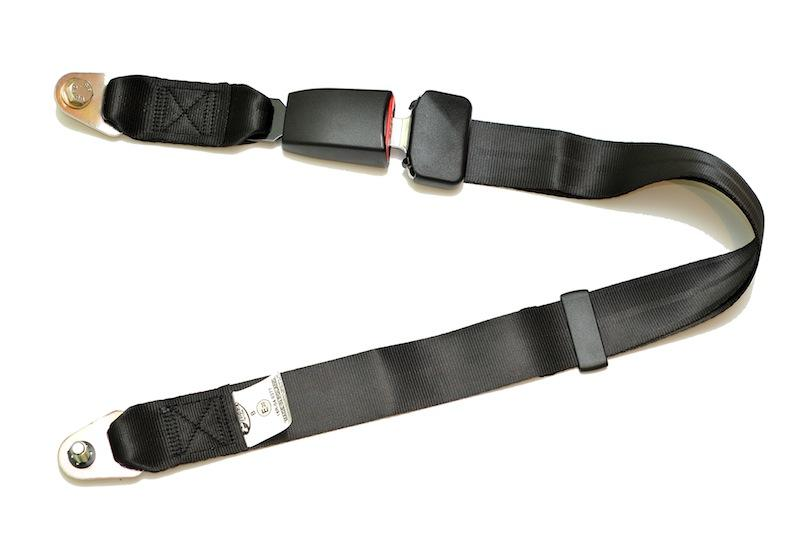 2-point lap safety belt type B (static)