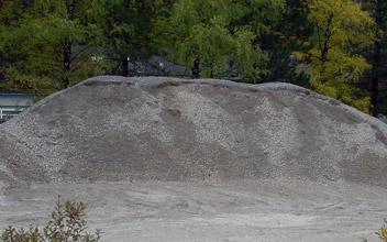 Bergschotter 0-30 mm, ungeschlammt - null