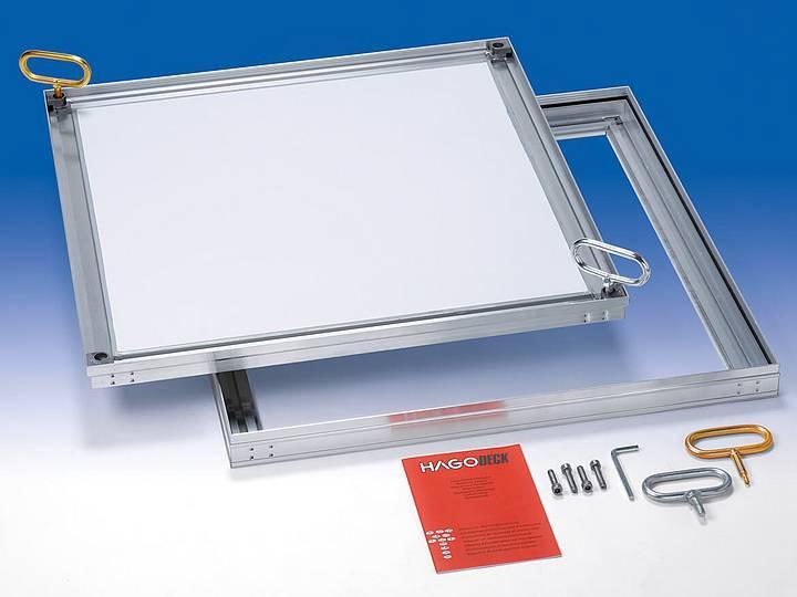 CLA-SL slim comp. light Alu Only 50mm installation... - Only 50mm installation depth, odour and waterproof
