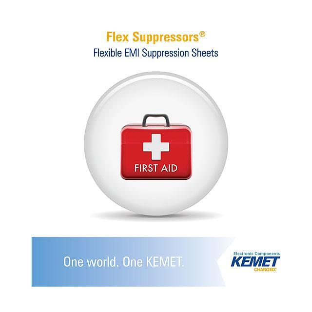 KIT FLEX SUPPRESSOR SHEET - KEMET FXS ENG KIT 01