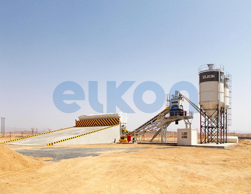 Elkomix-60 Quick Master - COMPACT CONCRETE BATCHING PLANTS