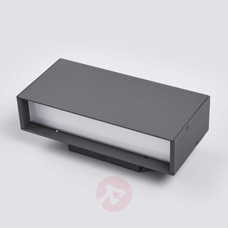 2-light LED outdoor wall light Elies - Outdoor Wall Lights