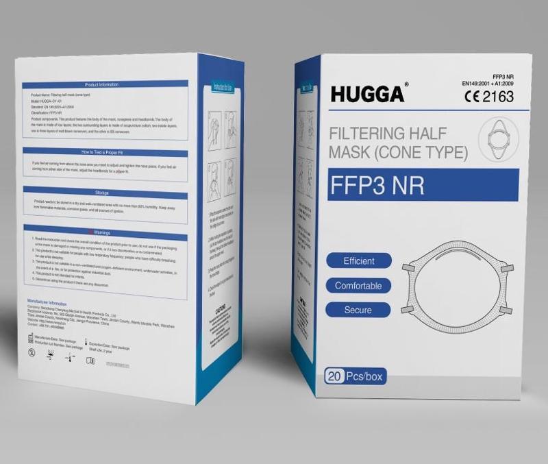 FFP3 NR HUGGA - null