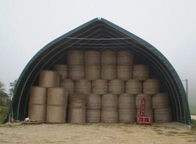 Abri de stockage agricole