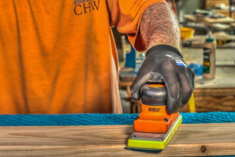 Cleco Orbital Sander - Cleco Dotco Orbital Sander for Industrial Sanding Applications