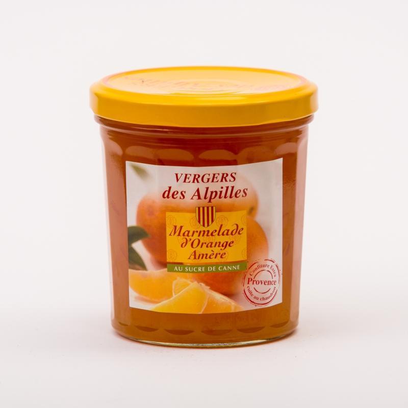 Vergers des Alpilles - Marmelade d'Oranges Amères - Confitures au sucre de canne