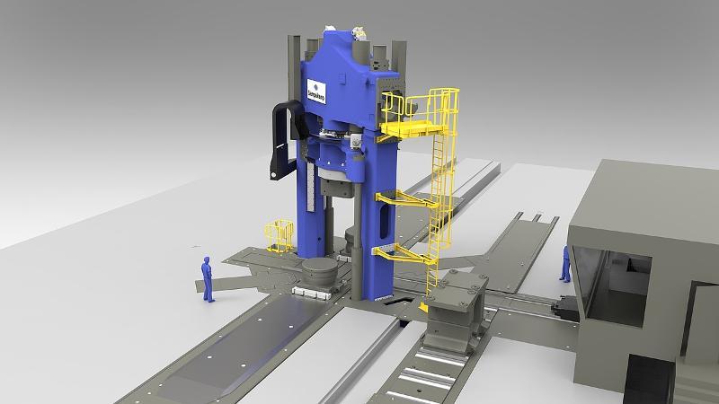 Open-Die Forging Press - null