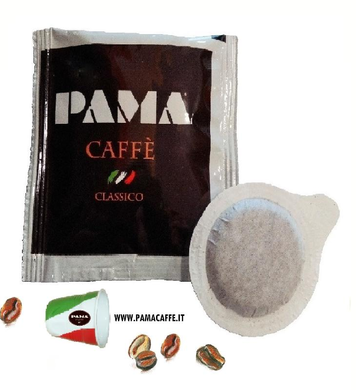 50 CIALDE CAFFÈ FILTRO CLASSICA - Carta ESE 44mm miscela + Kit (zucchero+palettine+bicchier.)