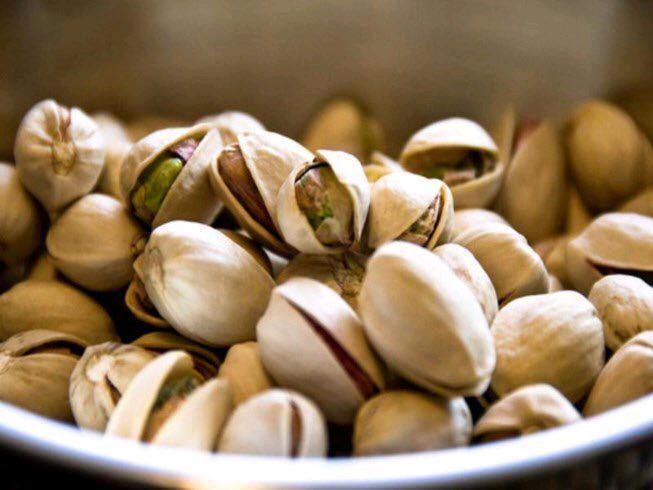 pistachios -