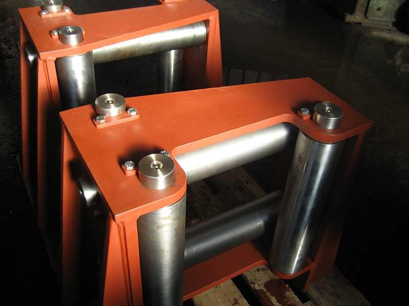 We manufacture structures for offshore and shipbuilding  -