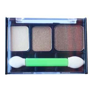 Cosmetics - Three-colors Eyeshadow-002 Full range of vibrant and cool