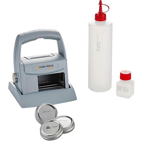 Stampante A Getto D'inchiostro Mobile Stamp N'coder 970 - null