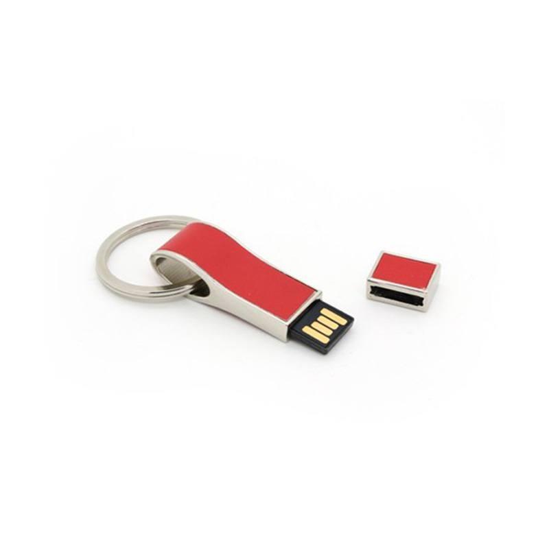 Cle USB Cuir Porte Clef - Clé USB cuir