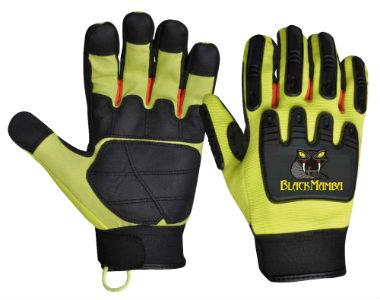 Gants haute protection Black Mamba