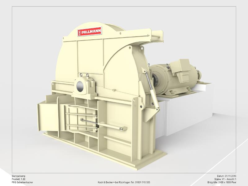 Disc chipper - Type PHS - MDF