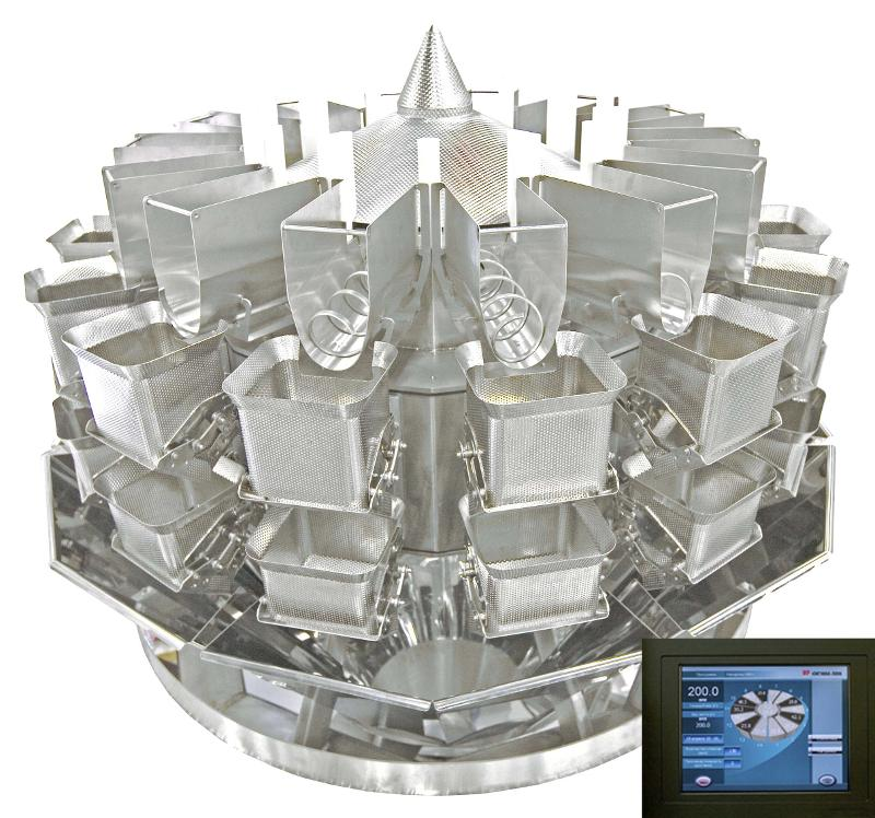 Multihead weigher SP14-2skb - WEIGHERS (DOSING EQUIPMENT FOR THE FOOD INDUSTRY)