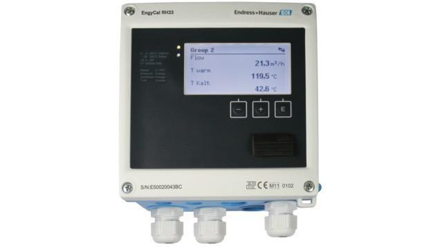 EngyCal RH33 BTU meter -