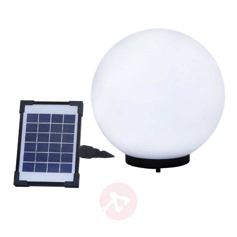 Decorative spherical solar lamp Mega Ball - Decorative Solar Lights