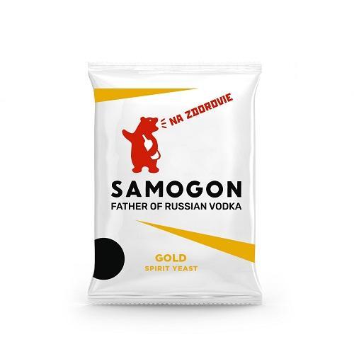 Samogon gold spirit yeast  -