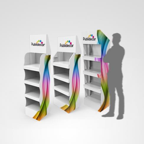 Displays box carton - PLV automatique