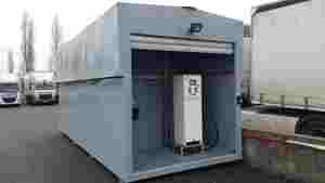 Conteneur métallique stockage carburant