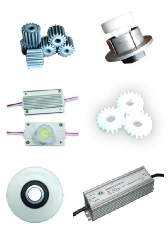 Комплектующие и ремонтные запчасти - В наличии все от шестеренок до контроллеров