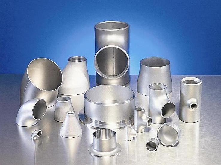 Stainless steel ti butt weld pipe fitting astm a