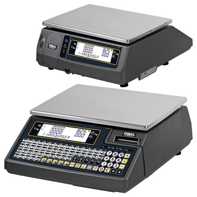 Serie Wind - Balanzas electrónicas con impresora de tickets o etiquetas