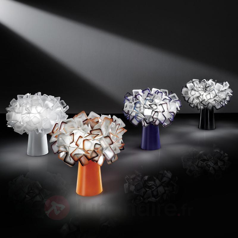 Lampe à poser de designer Clizia, noir - Lampes à poser designs